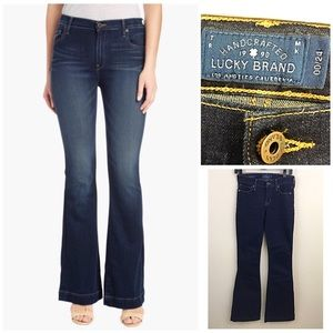 Lucky Brand Brooke Flare dark wash jeans size 00